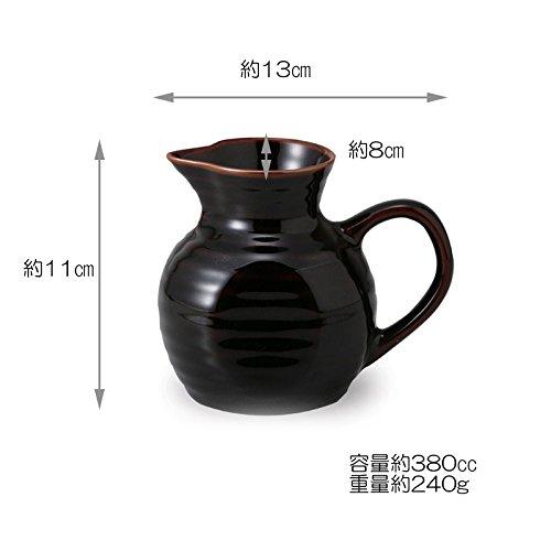 電子レンジピッチャー有田焼天目釉ama-634874