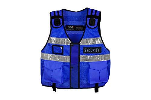Chaleco táctico de alta visibilidad, manipulador de perros, chaleco de seguridad CCTV, chaleco de tac (portero)