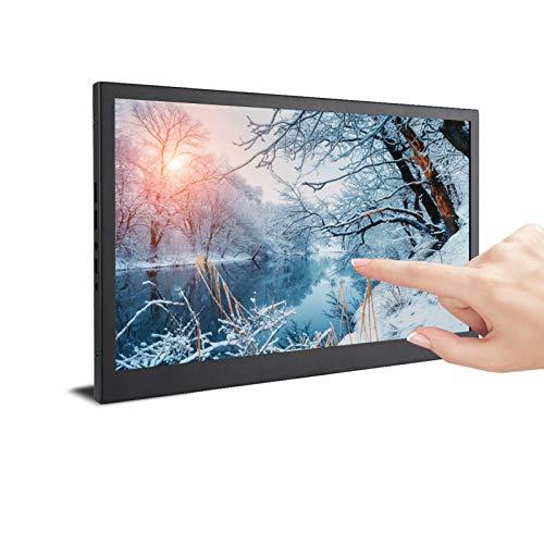 Monitor para Juegos, Marco Estrecho 11 Mm De Grosor IPS Full HD 1080P HDR Monitor Portátil De Renderizado De Efecto De Luz De Alta Dinámica para Juegos para La Oficina En Casa