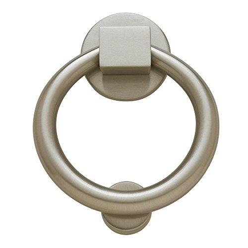 "Baldwin Estate 0195.150 Ring Knocker in Satin Nickel, 4.25"""