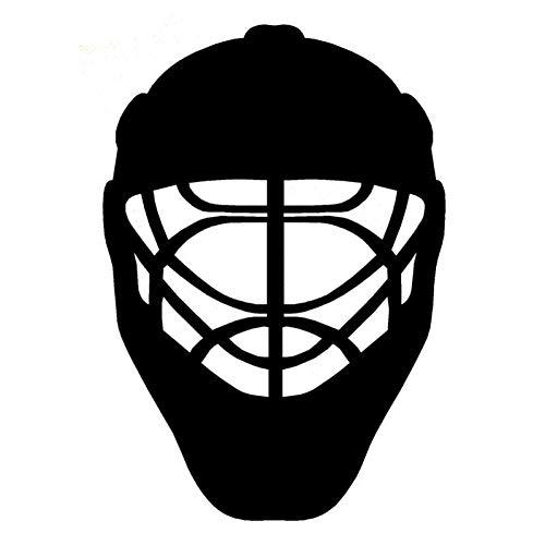 Hhuycvff vwuig Sport Eishockey Helm PVC Schalter Aufkleber Wandtattoo0451