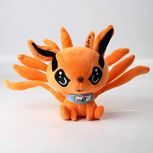 CYHT 17cm Anime Shippuden Fox Peluche Juguetes Muñeca Linda Uzumaki Kyuubi Kurama Nueve Tales Fox Relleno Toys Regalo para niñas Niños
