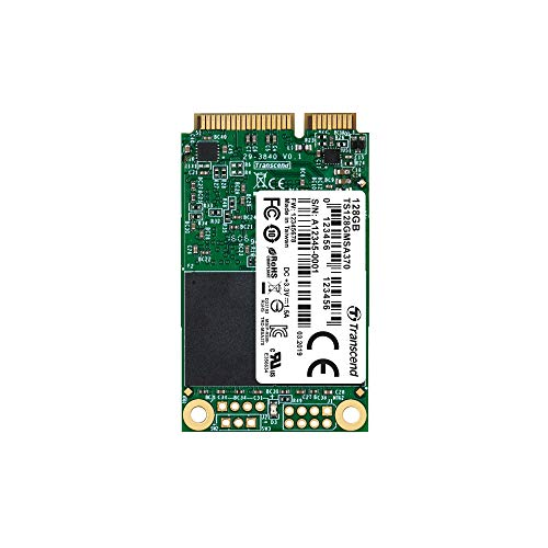 Transcend 128GB SATA III 6Gb/s MSA370 mSATA SSD 370 SSD TS128GMSA370