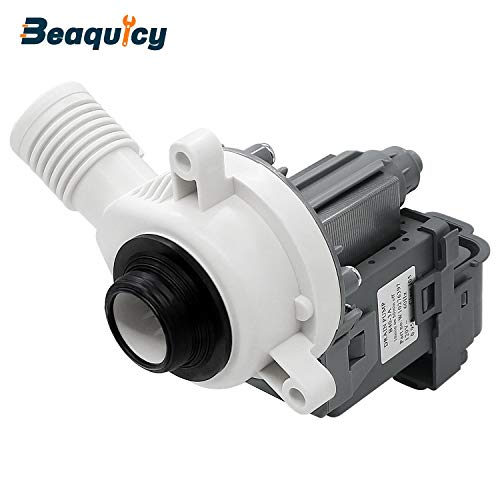 Beaquicy W10276397 Washer Drain Pump(120V-60Hz-10min on 50min off) -Replacement part for Whirlpool Kenmore Amana Crosley Inglis Roper Washing Machine - Replaces WPW10276397