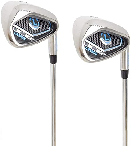 LAZRUS Premium Golf Irons Individual or Golf Irons Set for Men (4,5,6,7,8,9,PW) or Driving Irons (2&3) Right or Left Hand Steel Shaft Regular Flex Golf Clubs