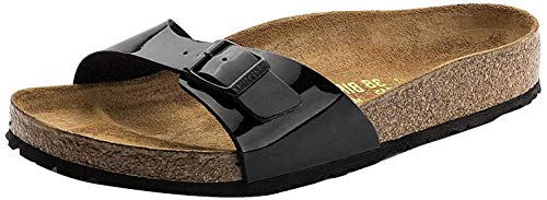 Birkenstock Unisex Arizona Essentials EVA Black Sandals - 36 N