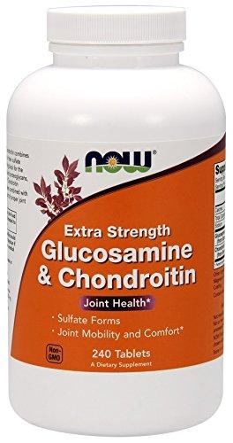 Now Foods Glukosamin und Chondroitin 2X 750/600Mg - 240 Tabletten, 1.3 kg