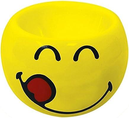 Preisvergleich für Zak Designs 6727-4463 Smiley Emoticon lecker Eierbecher gelb