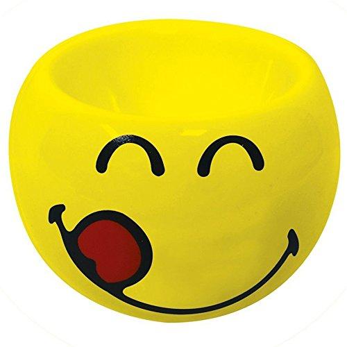 Zak Designs 6727-4463 Smiley Emoticon lecker Eierbecher gelb