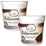 CK Products Chocolate Buttercream Decorating Icing 26 oz (2PK)