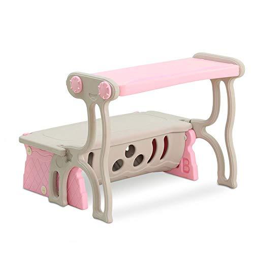 LXMT Mesa de bebé, Escritorio, Taburete, Mesa para niños y Silla ...