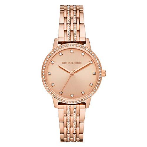 Michael Kors Reloj de cuarzo para mujer de acero inoxidable MK4369