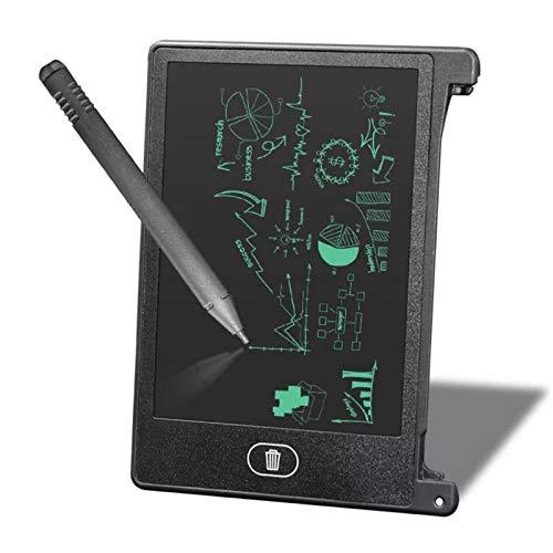 Scrittoio, Lavagna per Scrittura a Mano LCD da 4,5 Pollici, Tavolo da Disegno per Tablet per Bambini/Ragazzi, Nota per promemoria Elenco promemoria, Lavagna muiti-Funzionale(Nero)