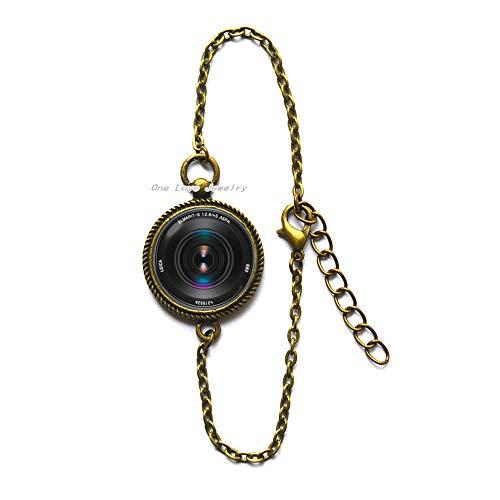 TAP364 - Pulsera para cámara de fotos de color negro