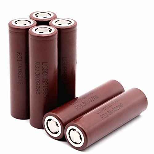 Batteria 18650 originale al 100% La batteria ricaricabile HG2 3000 mAh 3.6V è adatta per elettroutensili di aeroplani, auto, biciclette elettriche e altri modelli (18 * 65mm, 1pcs)