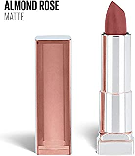 (Pack 3) Maybelline New York Color Sensational Nude Lipstick Matte Lipstick, 565, Almond Rose 0.15 ounce