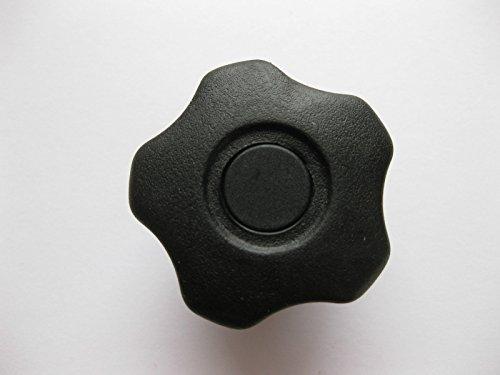 Soft Touch lobe Bouton 40 mm x Écrous de serrage M8 Boulon de vis de poignée Gym Scie perceuse