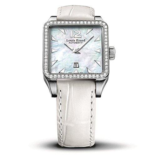 LOUIS ERARD EMOTION 20700SE04.BDC61 - Orologio da polso da donna con diamanti da 29 mm