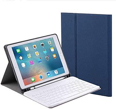 LOMQIT Tastatur H lle f r das Neue iPad 2018 der 6 Generation iPad Pro 9 7 quot 2017 der 5 Generation iPad Air Air abnehmbares kabelloses Keyboard Honeycomb Cover mit Stifthalter Blau Schätzpreis : 35,95 €