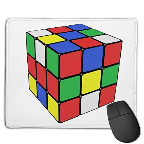 Preisvergleich Produktbild Mouse Pad Magic Cube Art Love Rectangle Rubber Mousepad 8.66 X 7.09 Inch Gaming Mouse Pad with Black Lock Edge