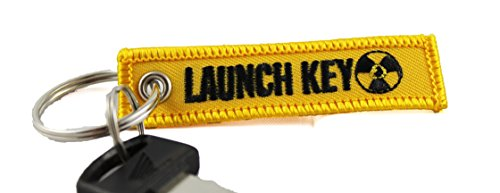 Centurion Goods Mini Motorcycle Keychains- CG Keytags Made for Motorcycles, Scooters, Cars, Gifts, and More (Launch Key)