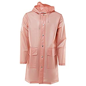 RAINS Damen Hooded Coat Kapuzenpullover