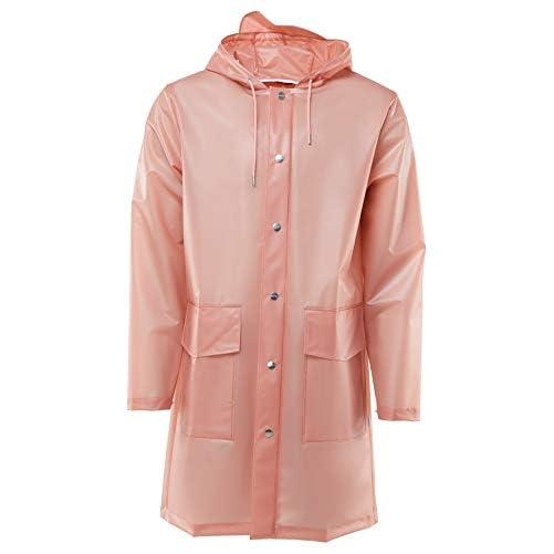 RAINS Damen Hooded Coat Kapuzenpullover