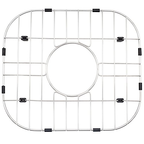 NWC Sink Protector, Metal Grid for Stainless Steel Kitchen Sinks | 14 in X 12 in | Best for Protecting Your Sink