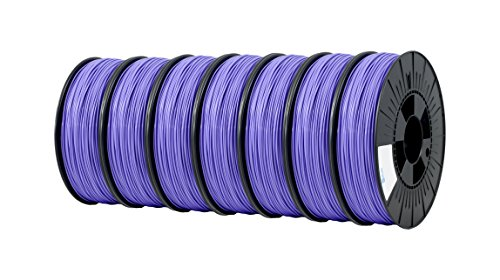 ICE FILAMENTS ICE7VALP174 PLA Filament, 2,85 mm, 0,75 kg, violet Perky (lot de 7)