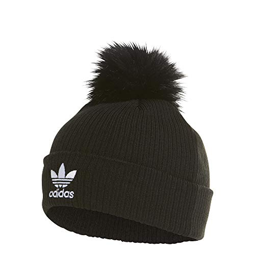 adidas Faux Fur Pom, Apparel Accessories Donna, Black, OSFM