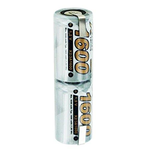 Preisvergleich Produktbild 1600mAh Akku O14 passend für Braun Oral B,  OralB Sonic Complete mit 2, 4 Volt