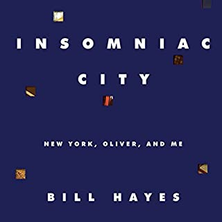 Insomniac City audiobook cover art