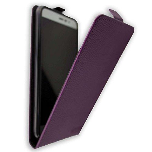 caseroxx Flip Cover für Medion Life E5006 MD 60227, Tasche (Flip Cover in lila)