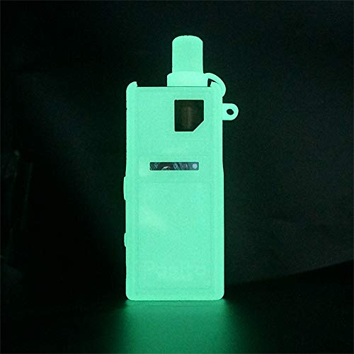 KKmod Texture Silicone Case for Smoant Pasito Mod Kit, Protective Rubber Sleeve Cover Shield (Glow in The Dark)