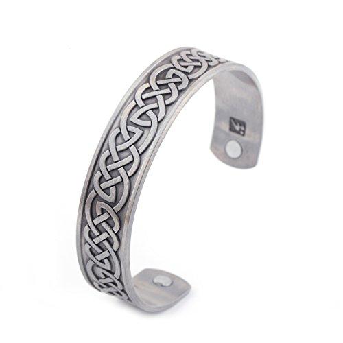 HEALTH CARE Magnetisches Armband für releaseing Schmerzen, Therapie, Balance und Energie für Damen und Herren