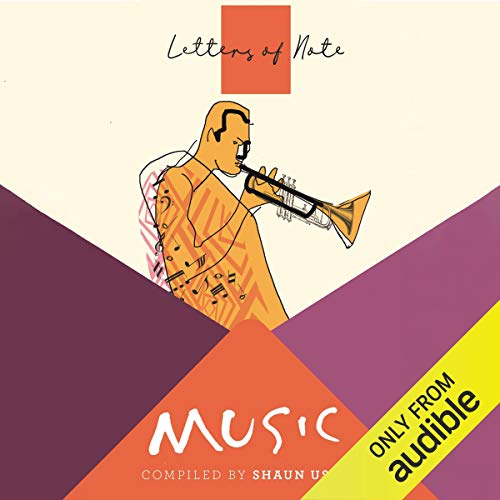 Letters of Note: Music cover art