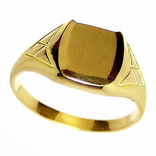 Sello oro 18k niño triángulos. Peso: 2,6gr. [161]