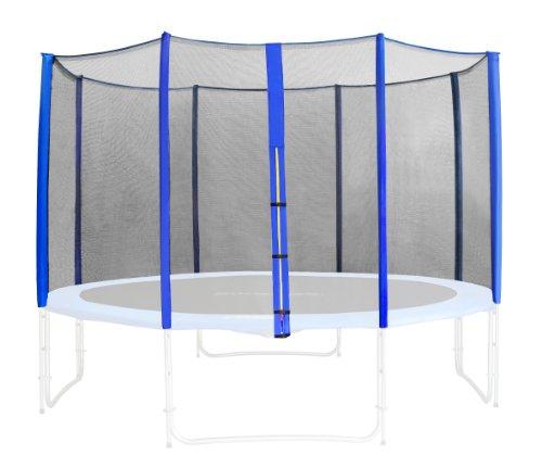SixBros. Sicherheitsnetz Blau für Gartentrampolin 1,85 M - 4,60 M - versch. Größen - SN-ON/466 - Größe 4,30 m 5L