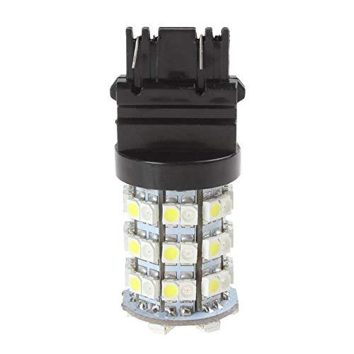 H HILABEE T25 3157 3528 60SMD 12V Bombillas LED Súper Brillantes de Respaldo Luces de Freno de Marcha Atrás
