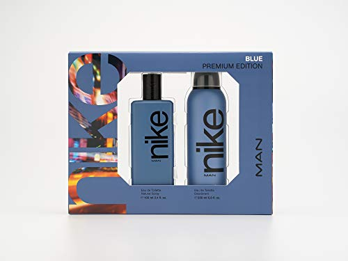 Nike Blue Man Eau de Toilette Natural Spray 100ml + Deodorant 200ml