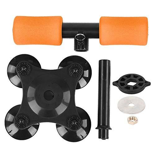 Heitune Sit-Ups Übung Bar-Ausstattung Assistent Übungsgerät Abdominal Fitness-Maschine (orange)