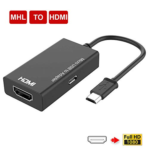 Adaptador MHL, MHL a HDMI, Micro USB a HDMI, Convertidor de dispositivos Android HDMI,...
