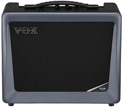 VOX Verstärker VX50GTV für E-Gitarre, Gitarrenverstärker mit Nutube-Röhre und USB-Anschluss, Bühnen- und Studioverstärker VX50-GTV schwarz-grau