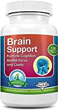 product image for Brain Support | Improve Focus, Mood, Memory, Clarity |Non GMO 120 (Vegetarian Capsules)