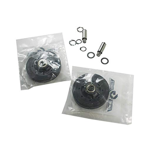 Speed Queen RB170002 Dryer Drum Support Roller Kit Genuine Original Equipment Manufacturer (OEM) Part