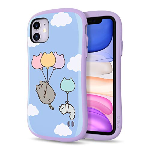 iFace x Pusheen First Class Designed for iPhone 11 – Cute Shockproof Dual Layer [Hard Shell + Bumper] Case [Drop Tested] - Blue Sky Balloon