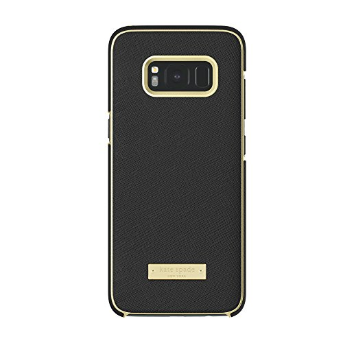 kate spade new york Wrap Case for Samsung Galaxy S8 - Saffiano Black