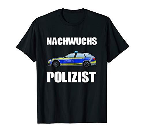 Nachwuchs Polizist Polizei Polizeiauto Polizisten T-Shirt