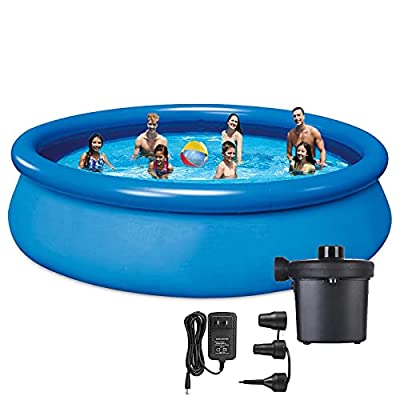 Amazon - 50% Off on 10ft Inflatable Pool Above Ground Pool Swimming Pool with Pump