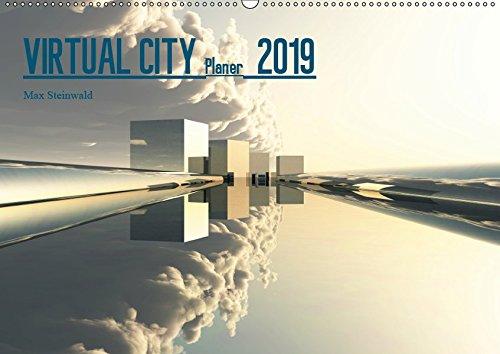 VIRTUAL CITY PLANER 2019 CH-Version (Wandkalender 2019 DIN A2 quer): Virtuelle Architektur - moderne Stadtansichten - ein moderner Wandkalender als ... 14 Seiten (CALVENDO Orte)